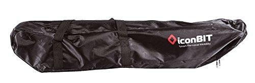 Iconbit Kickscooter Bag Tasche Für Tretroller, Schwarz, Uni