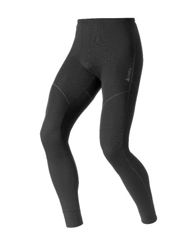 Odlo Herren BL Bottom Long Active X-WARM Unterhose, Black, XXL