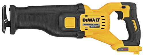 DEWALT FLEXVOLT 60V MAX Cordless Reciprocating Saw, Tool Only (DCS389B) (Renewed)