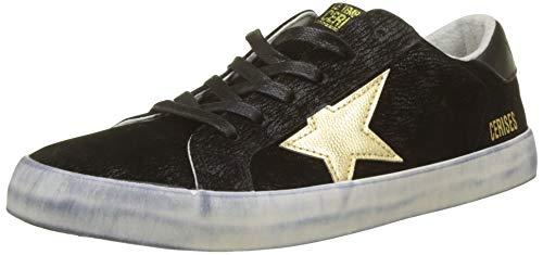 Le Temps des Cerises Damen City Sneaker, Schwarz (Black Gold Black Gold), 40 EU
