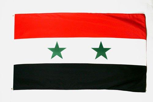 AZ FLAG Flagge SYRIEN 150x90cm - SYRISCHE Fahne 90 x 150 cm - flaggen Top Qualität