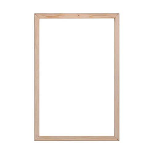 Tonzom 40 x 50cm Bilderrahmen Segeltuch-Bahre Holzrahmen Riegel mit Thumb Tacks für Ölmalerei und Malen nach Zahlen (4 Streifen)