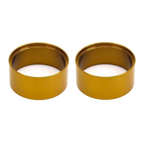 Nrpfell Metal 2.2 Beadlock Llanta de Rueda de Anillo Contrapeso Interno Contrapeso para Axial SCX10 90046 AXI03007 Trx4,2P