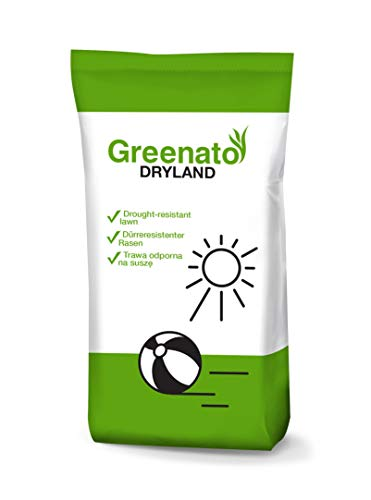10kg Rasensamen Greenato Dryland dürreresistenter Rasen Grassamen Rasensaat Gras Grassaat