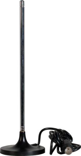 Telestar Starflex T6 Passive Teleskop-Antenne mit Magnetfuß, 5102218, schwarz