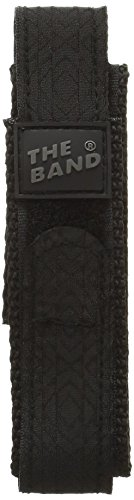 Chums CHM00010MT The Band 20mm Watch Band, Black