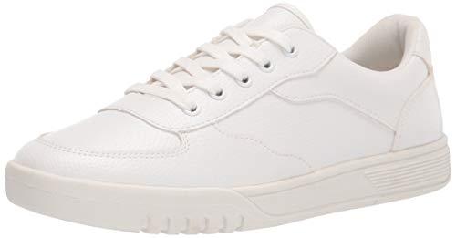 Amazon Essentials Kids' Uniform Sneaker, White, 4 Youth US Big