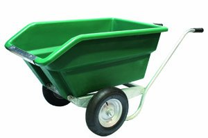 JFC Kippschubkarre 255 Liter in grün