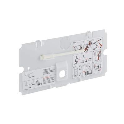 Geberit–Transparent Schutzplatte fuer Design 200F und Twinline 241056001