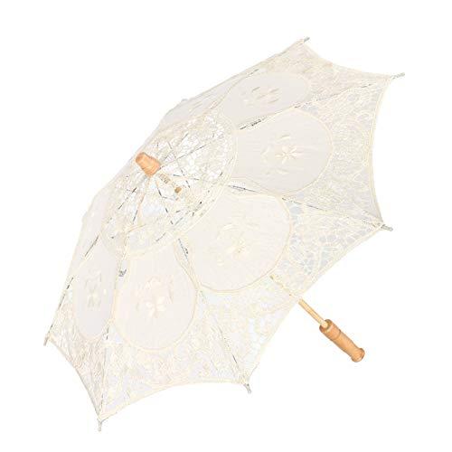 Parasol de encaje, paraguas de boda de moda, hermoso encaje + eucalipto...