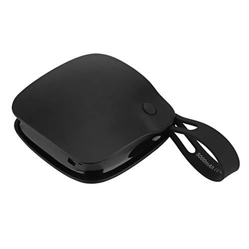 Réchauffeur de Main Mini Portable Anti-déflagrant USB Rechargeable Double Face Chauffage Réchauffeur de Main Mobile Power Bank pour Home Office(02)