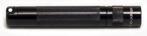 MagLite-Lampe Torche de Poche Porte-cles Solitaire - Noire - 8 cm + Coffret + Pile AAA + Amp, Noir, MGLK3A012