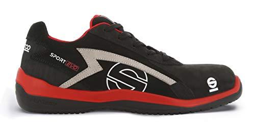 scarpe antinfortunistiche sparco uomo Sparco 0751642RSNR Scarpa Antinfortunistica da Lavoro