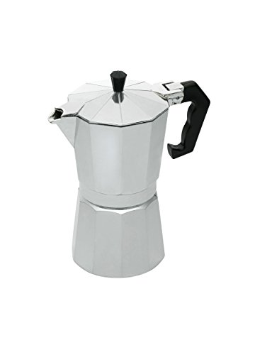 KitchenCraft Le'Xpress 6-Cup Stove Top Espresso Maker, 290 ml