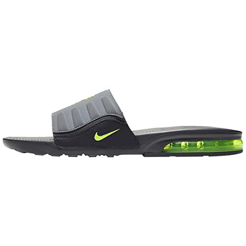 Nike Men's Air Max Camden Slide Anthracite/Dark Grey/Cool Grey/Volt BQ4626-001 (Size: 10)
