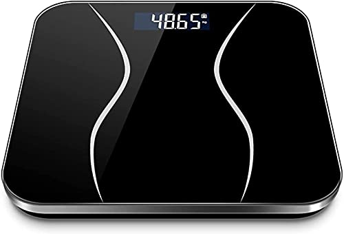 QUERT Básculas para Pesar el Peso Corporal Weight Watchers Baño Ultradelgado, pesaje Digital de Alta precisión Grasa Corporal electrónica