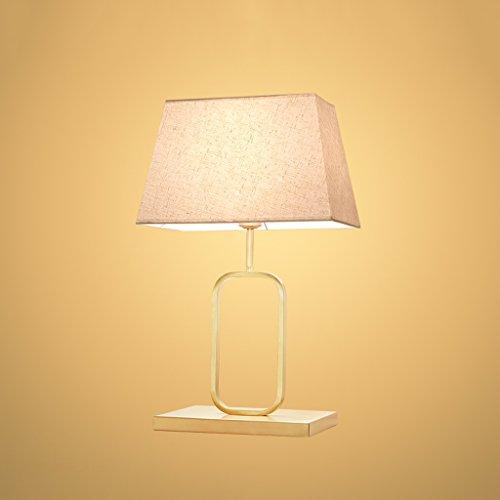 Gute Sache Tischleuchte Tischlampe Wohnzimmer Lampe Voll Von Kupfer-Lampen Einfache Moderne Warm Schlafzimmer Nachttisch Lampe Luxus Tischlampe