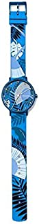 Skagen Aaren Women's Blue Dial Silicone Analog Watch - SKW2860