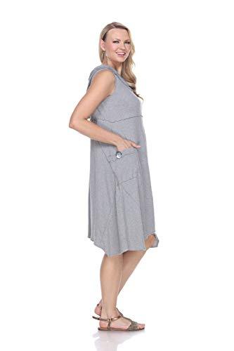 Neon Buddha Women's Garcia Dress, Sporty Grey, Small