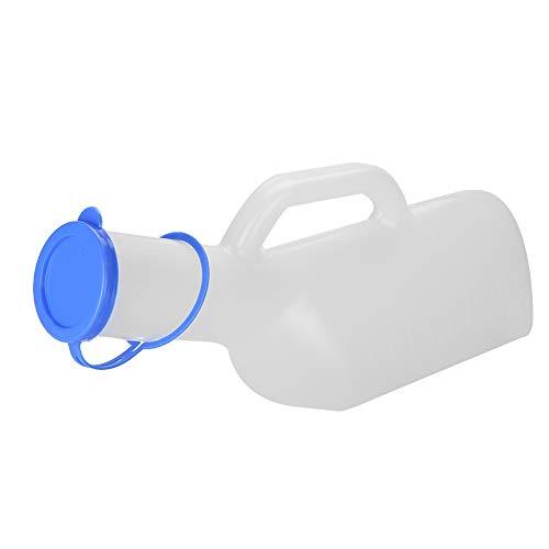 Botella de orina, portátil reutilizable alta capacidad regla macho orinal, botella contenedor de orina para hombre, niños, movilidad de los ancianos, después de la cirugía, 1000ml
