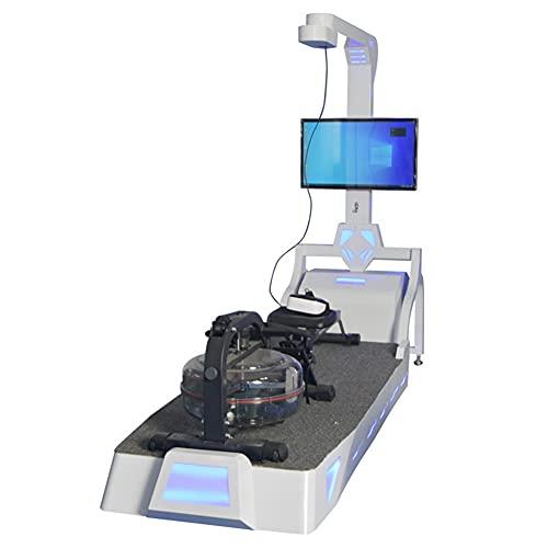 RSTJ-Sjef VR Rudergerät Virtuelle Realität Somatosensorische Spielmaschine, Simuliertes Driften Fitness VR All-In-One-Ausrüstung Trainingsgeräte