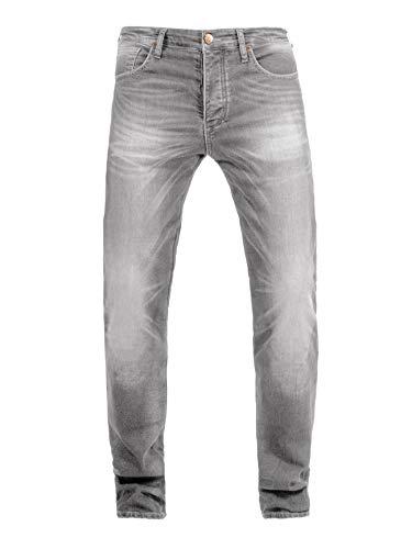 John Doe Ironehead - XTM | Motorradhose | Einsetzbare Protektoren | Atmungsaktiv | Motorrad Jeans | Denim Jeans mit Stretch