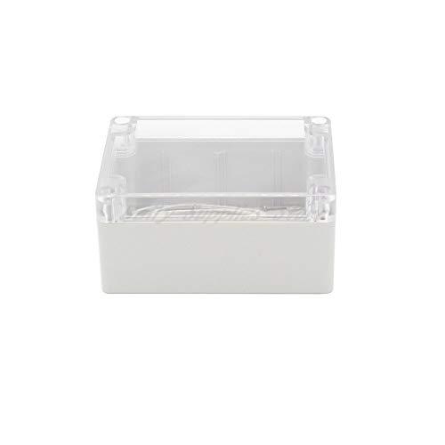 1St. 115x90x55MM Wasserdichte Abdeckung Klarer Kunststoff Elektronische Projektbox Gehäuse