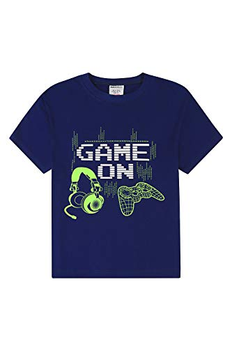 Camiseta de algodón Game on Controller Gamer para niños