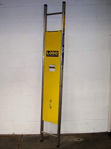 LOBO Ladder Guard - kein Werkzeug - Alternative zum Gerüst - einstellbares modulares Turmzugangsplattform system - Anti-Kletter-Gerät gegen unbefugten Zugriff