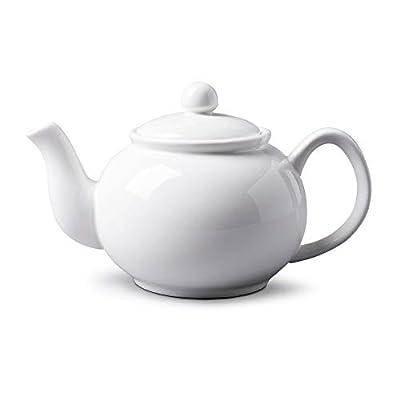 WM Bartleet & ?Sons 1750 Théière traditionnelle en porcelaine Blanc 900 ml