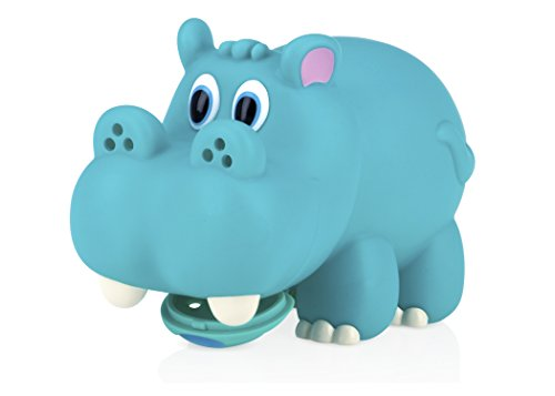 Nuby Hippo Spout Guard, Colors May Vary. Opening Diameter Measures 2.25 INCHES