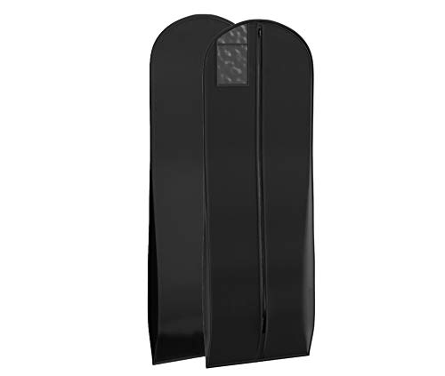 Bags for Less New X-large Breathable Black Wedding Gown Garment Bag