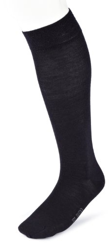 Elbeo 937909 / Classic Wool Kniestrumpf Chaussettes montantes, Bleu (Nachtblau 9756), FR (Taille Fabricant : 39-42) Homme