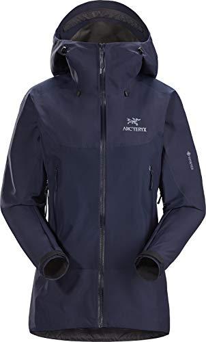 Arcteryx W Beta SL Hybrid Jacket Blau, Damen Gore-Tex Regenjacke, Größe L - Farbe Cobalt Moon
