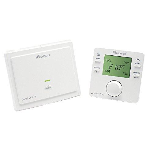 Worcester Bosch Comfort Ii Wireless Room Thermostat & Plug-In Rf Receiver