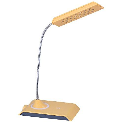 Daffodil LEC200 Luce LED da lettura - Lampada da tavolo con braccio flessibile a 22 LED e Luminosità regolabile