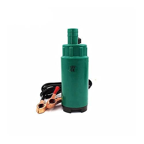 Bombas de combustible Diámetro de bomba de aceite de agua de combustible diesel sumergible 5 1 MM El plastico DC 12V 24V 30L / Min 60W Coche Camping Portátil con interruptor Transferir ( Color : 24V )