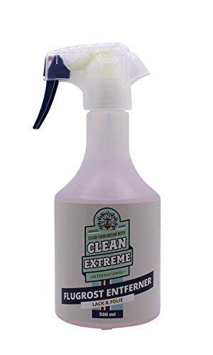 CLEANEXTREME Auto Flugrostentferner Gel 500 ml - Entfernen von Flugrost auf Auto, Anhänger, von Rostflecken auf Beton, Granit. Säurefrei, pH-neutral