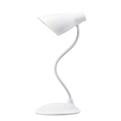 デスクライト 電気スタンド USB充電式 目に優しい コンパクト LEDライト 自然光 省エネ タッチセンサー調光 3モード 読書ライト(ホワイト)