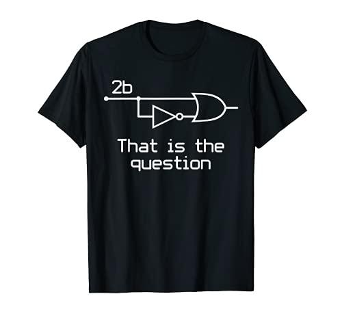 Sein oder nicht sein Elektrische Ingenieur Circuit T-Shirt Dark
