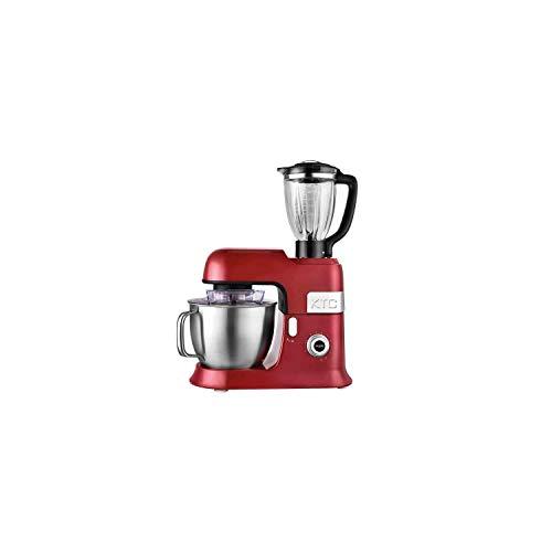 Robot de cocina con batidora de seguridad, modelo Expert XL, color rojo