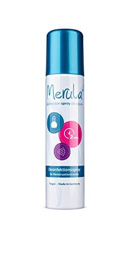 Merula Spray - Reinigungs- und Desinfektionsspray für Menstruationstassen, transparent, 75 ml