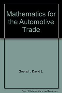 Mathematics for the Automotive Trade