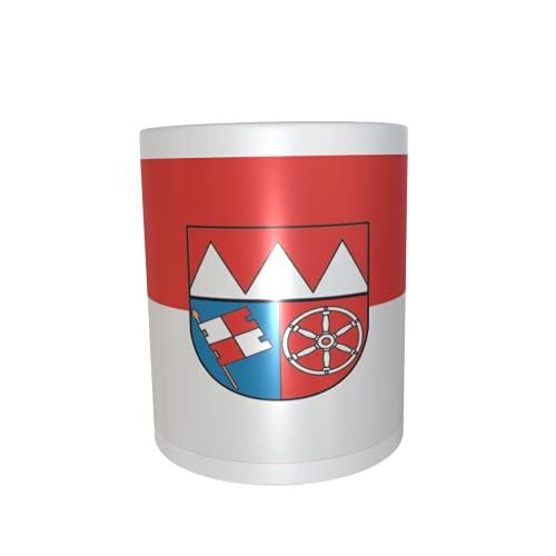 U24 Tasse Kaffeebecher Mug Cup Flagge Unterfranken