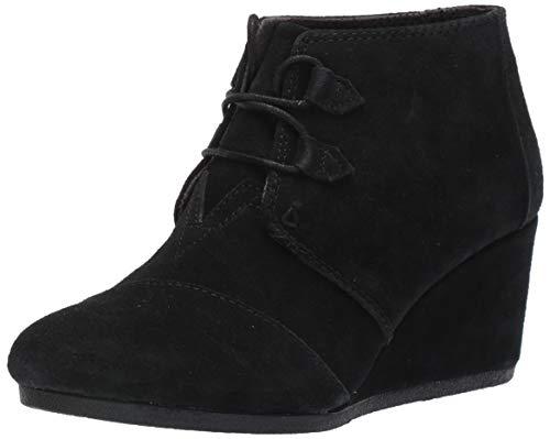 TOMS Black Suede Women's Kala Botie 10012955 (Size: 7.5)