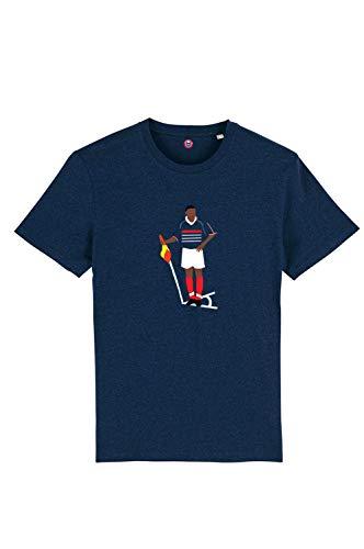 T-Shirt Thierry Henry France 98 100% Coton Bio. - Jersey Coton 155g/m2 buteur de la France en 1998 buteur de l'équipe de France désormais. Henry.