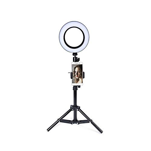 XIYUN LED Selfie Ring Light Ring Lamp Makeup studio Photography lighting with Stand Tripod Annular Lamp for Video Photo