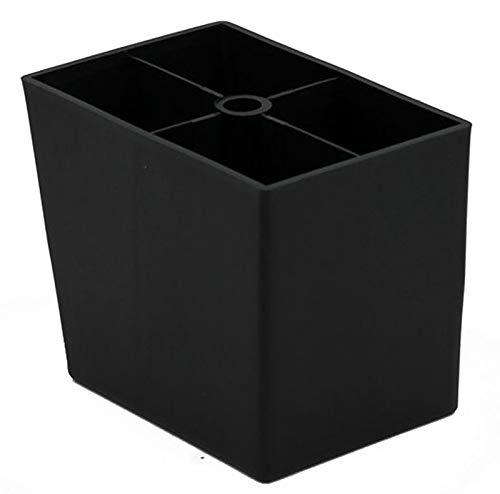 Design61 4er Set Möbelfüße Sofa Füße Möbelgleiter Möbeluntersetzer Sofa Sessel zum Anschrauben 100 mm