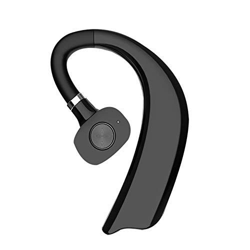 vogueyouth X23 Bluetooth 5.0 Auriculares inalámbricos Colgantes, Auriculares de una Sola Oreja Ajustables 180 ° 720H Auriculares Manos Libres de Negocios de Larga Espera con Control por Voz