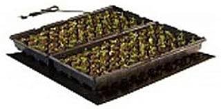 Hydrofarm MT10008 Seedling, 20 x 20 Inch Seedling & Germination Heat Mat,20-by-20-Inch, Black
